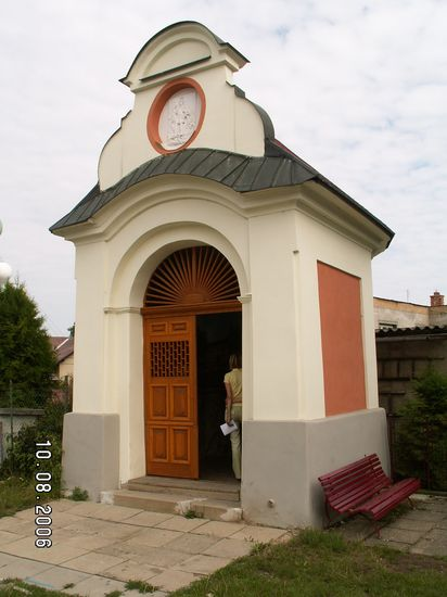 Kaplička sv.Floriana v Moravičanech