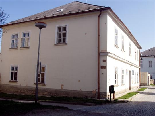 Dům s baštou Mohelnice - Kostelní náměstí