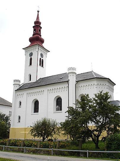 Kostel sv. Antonína Paduánského Třeština