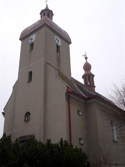 Kostel v Paloníně