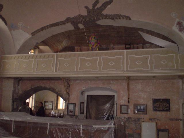 Synagoga Loštice před rekonstrukcí