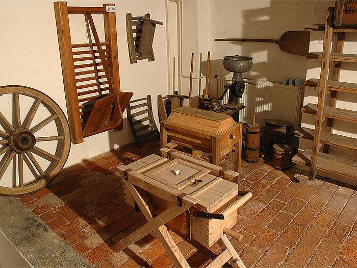 Muzeum tvarůžků - pohled do expozice