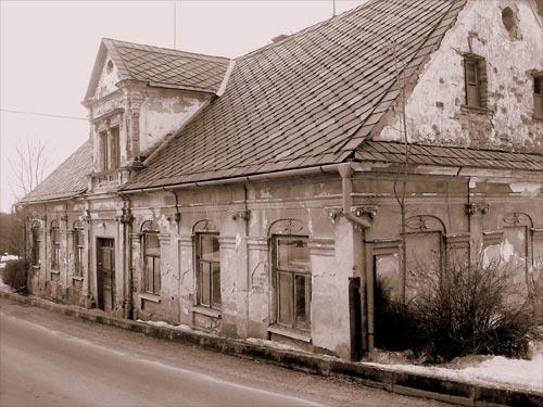 Památný dům z roku 1839 Maletín