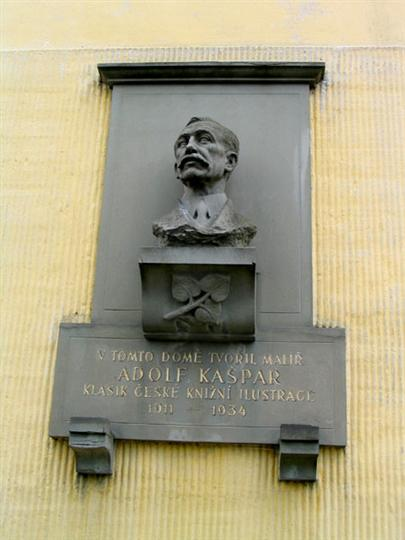 Památník Adolfa Kašpara Loštice