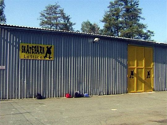 Skatepark, in-line areál Loštice