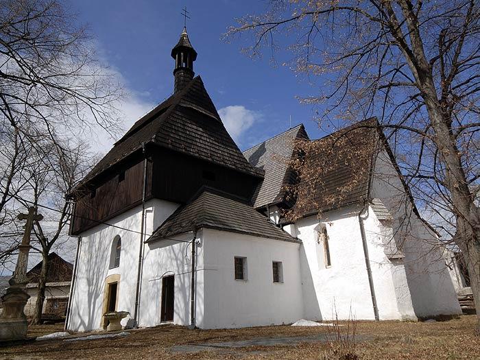 Kostel Všech svatých Vyšehorky - Líšnice