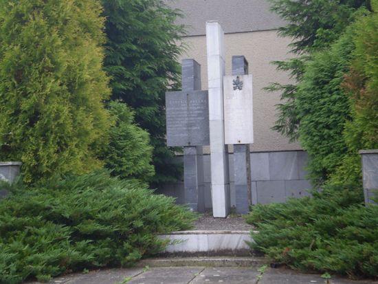 památník osvobození ve Veleboři