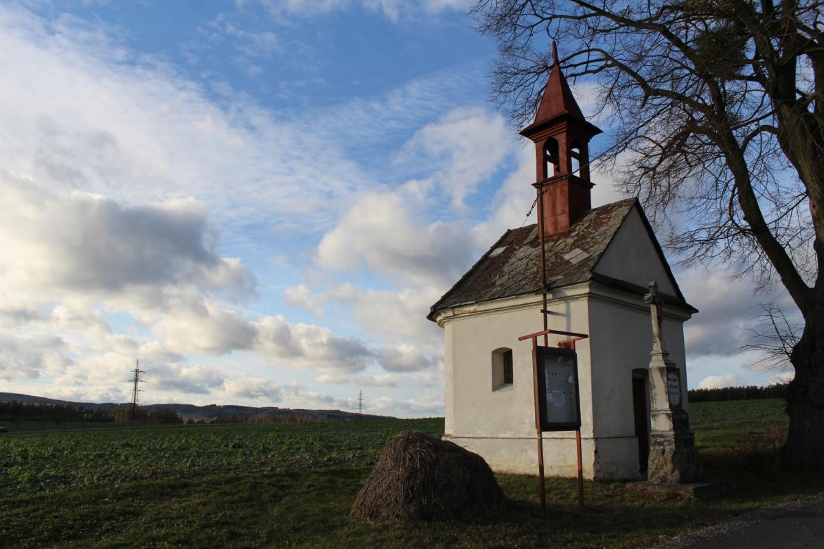 Zavadilka část obce Pavlov