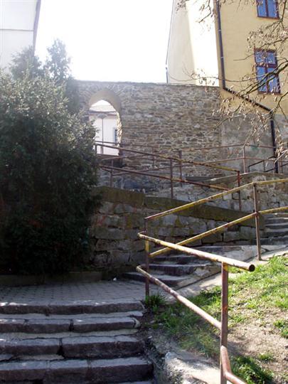 Městské hradby v Mohelnici
