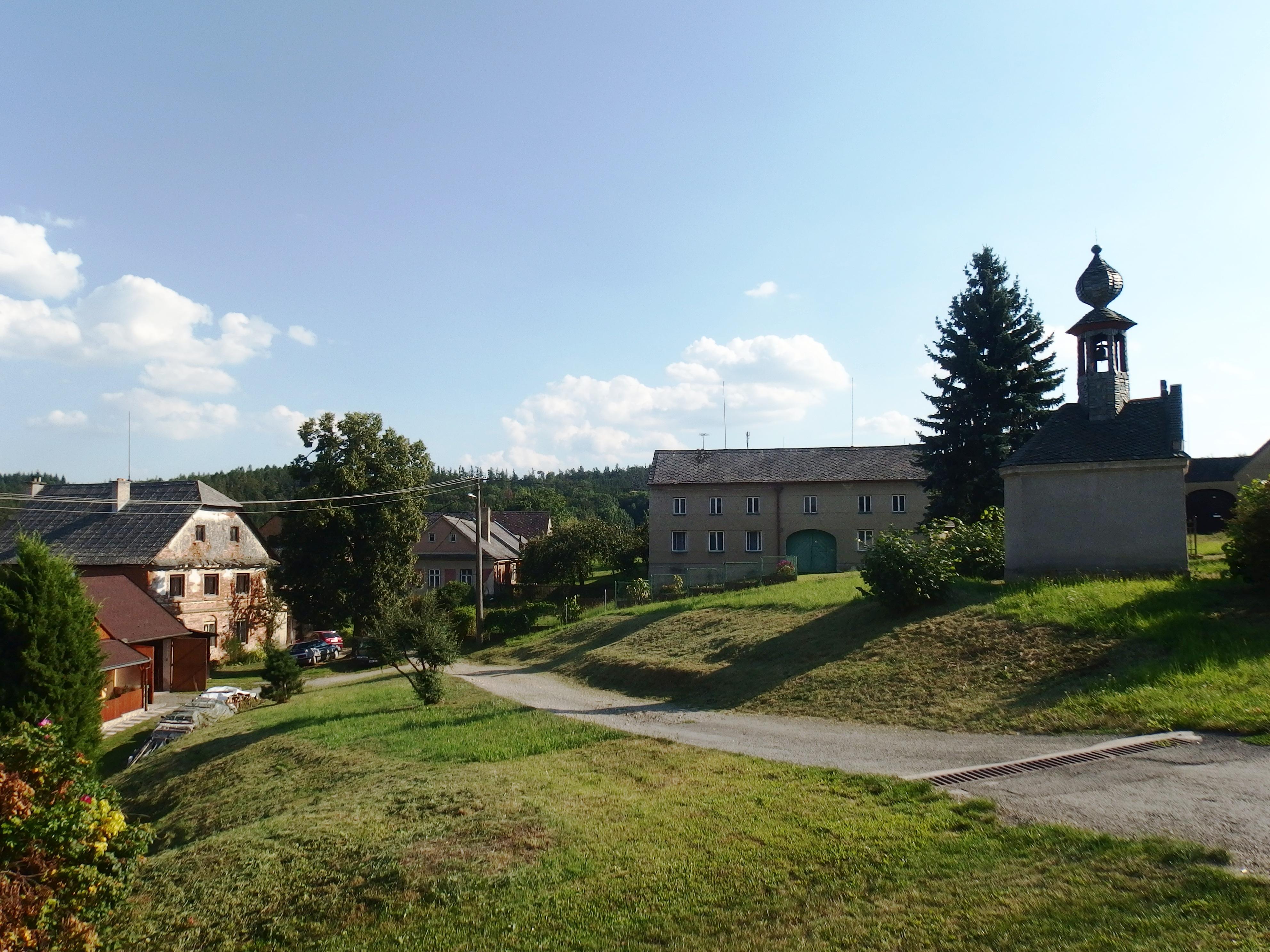 Veselí část obce Pavlov