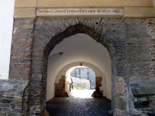 Severní městská brána Mohelnice