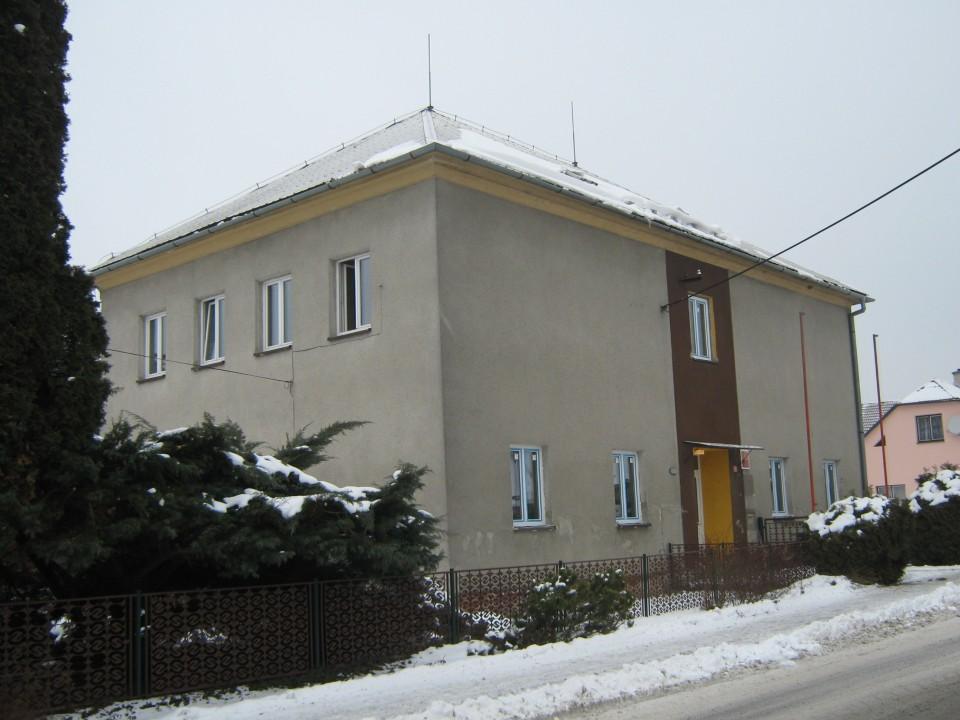 Budova školy - nyní muzeum
