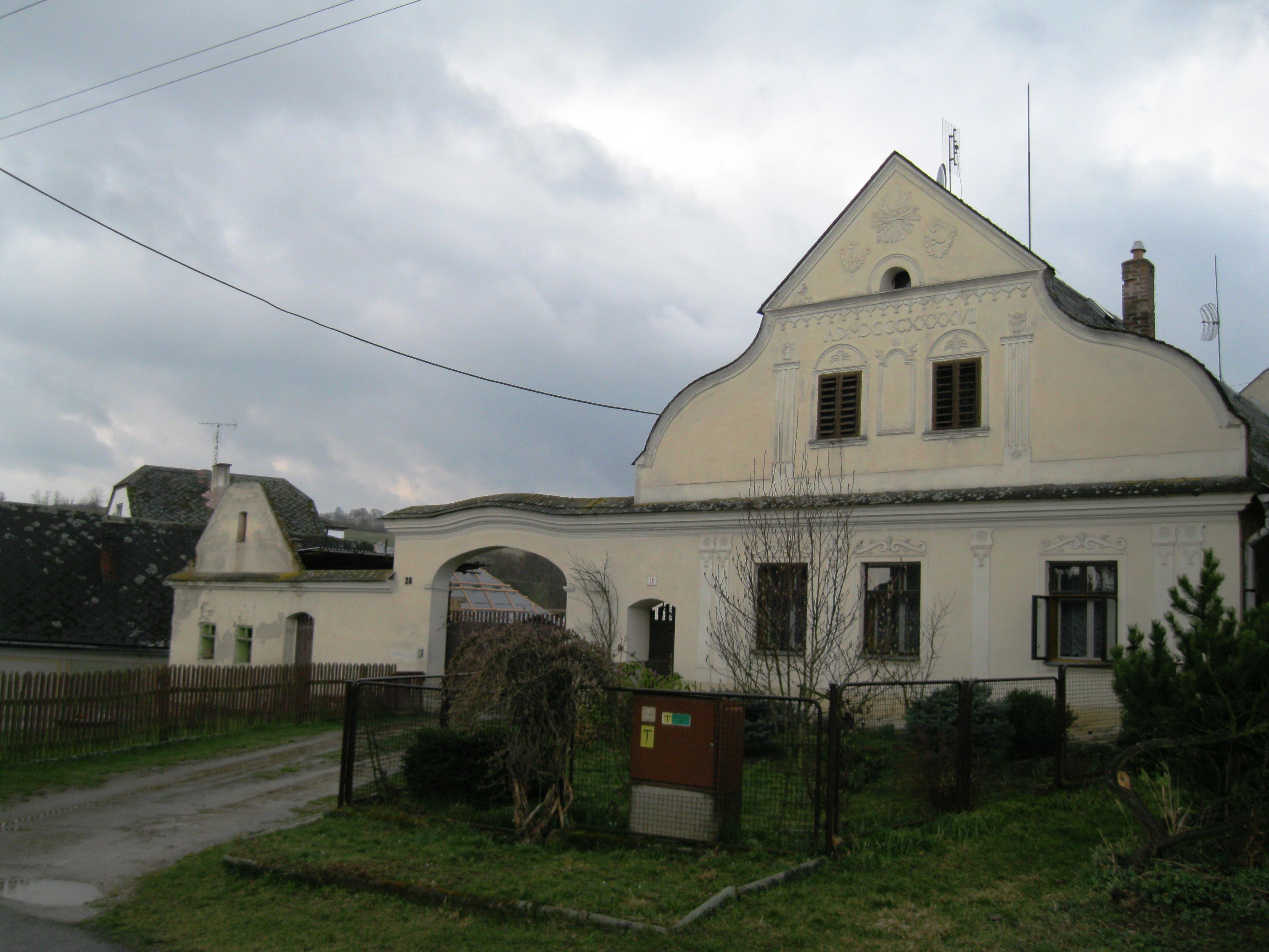 Zemědělská usedlost Křemačov - Mohelnice