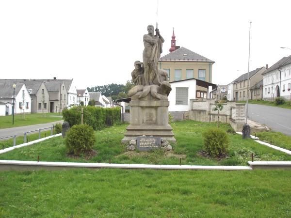 Památník padlým v 1. světové válce Třeština