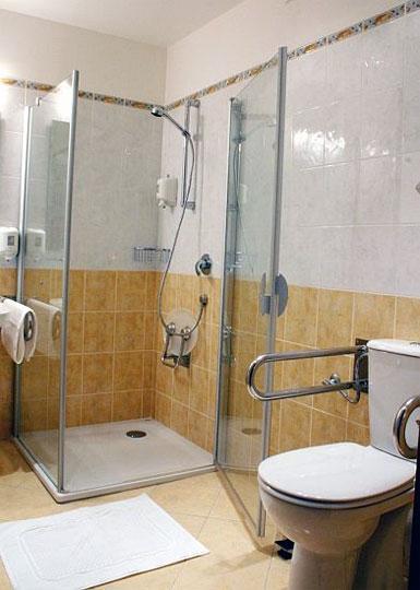 Penzion U Coufalů koupelna