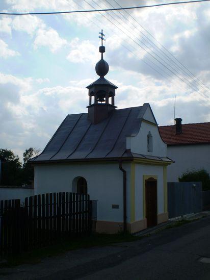 kaplička v sv.Josefa v Mitrovicích