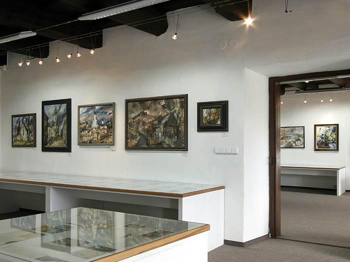 Galerie ak.malíře Lubomíra Bartoše Úsov