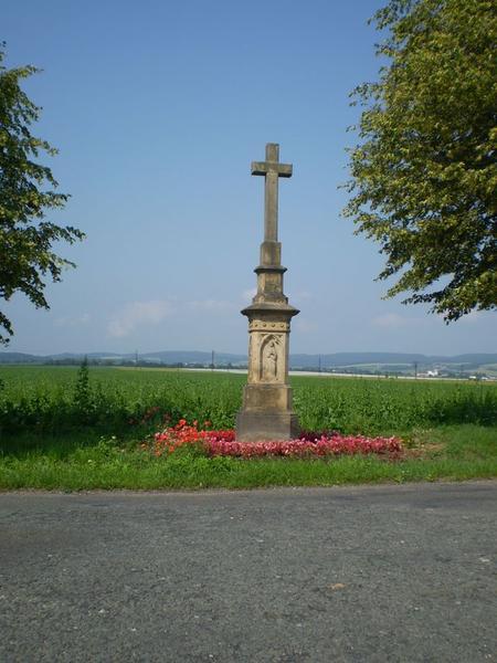 kříž na cestě do Mohelnice