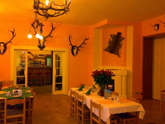 Penzion Vila Háj Třeština - restaurace
