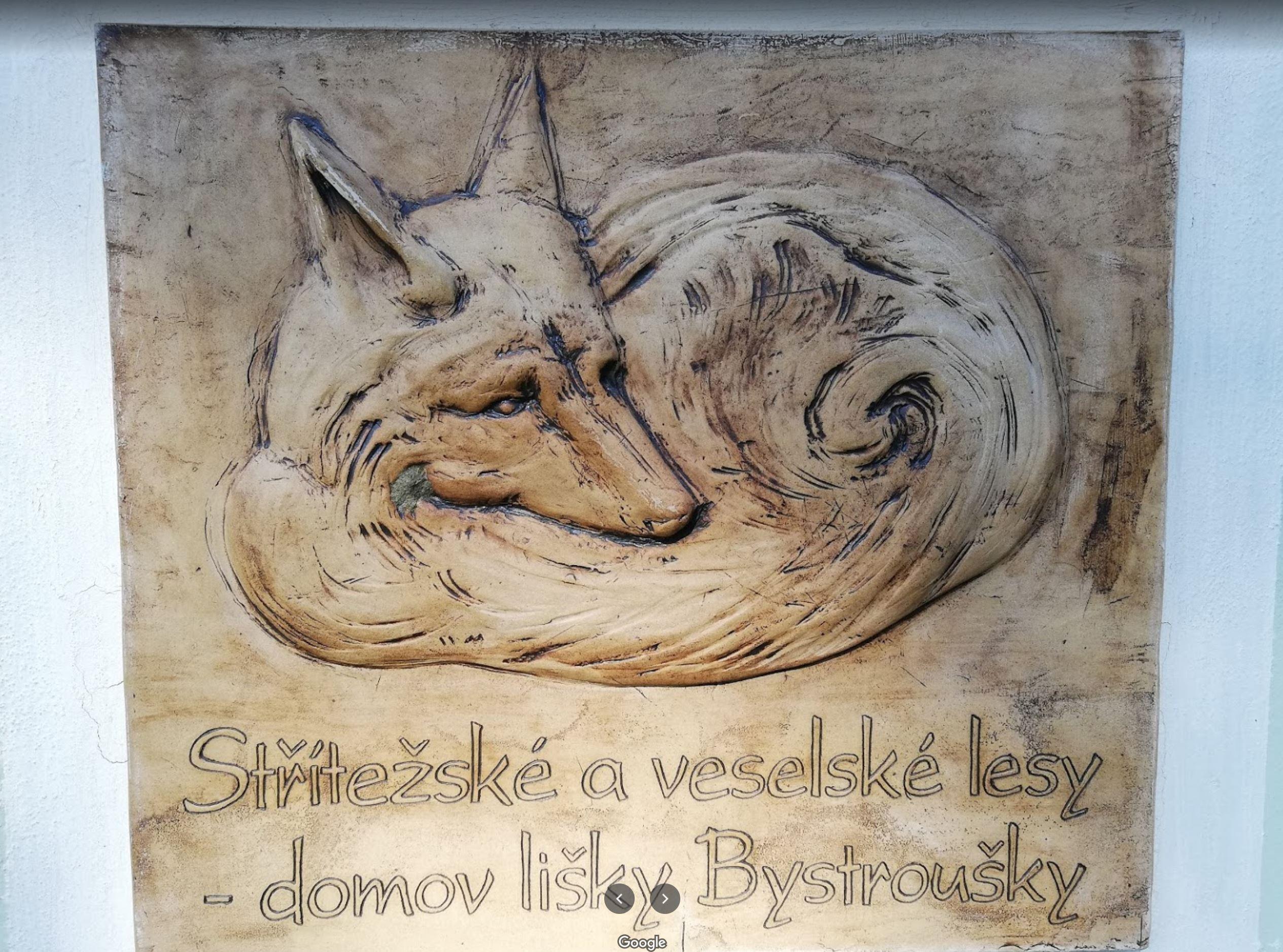 Rodiště lišky Bystroušky - Pavlov