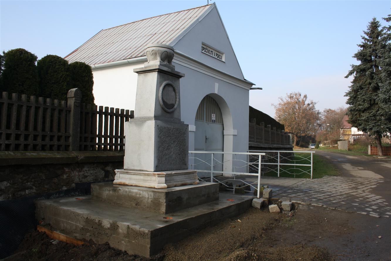Památník 1.světové války v Úsově