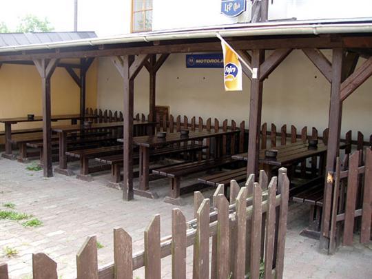 Herna, bar Kanál - posezení