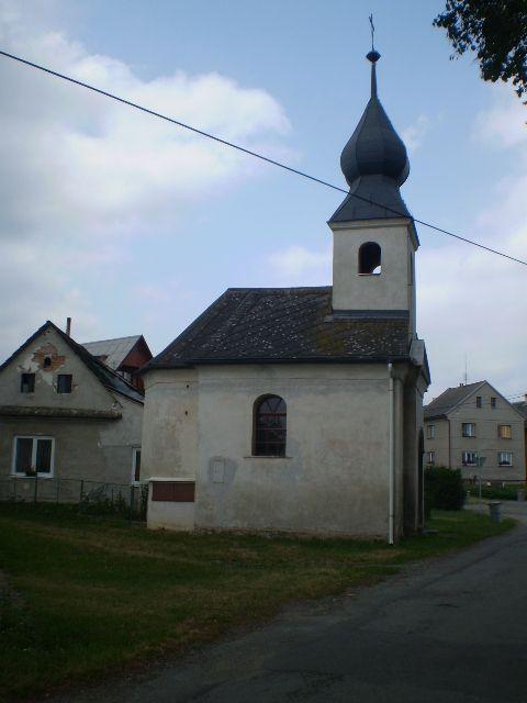 Kaple Panny Marie Květín - Mohelnice