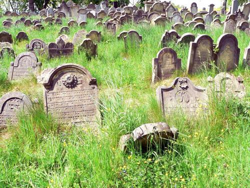 Židovský hřbitov Úsov