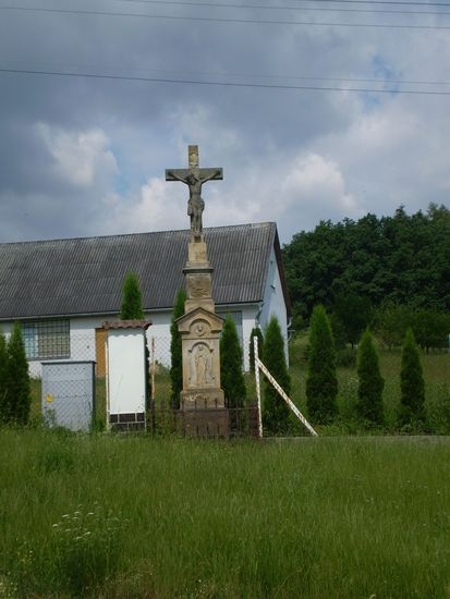kříž na Zavadilce