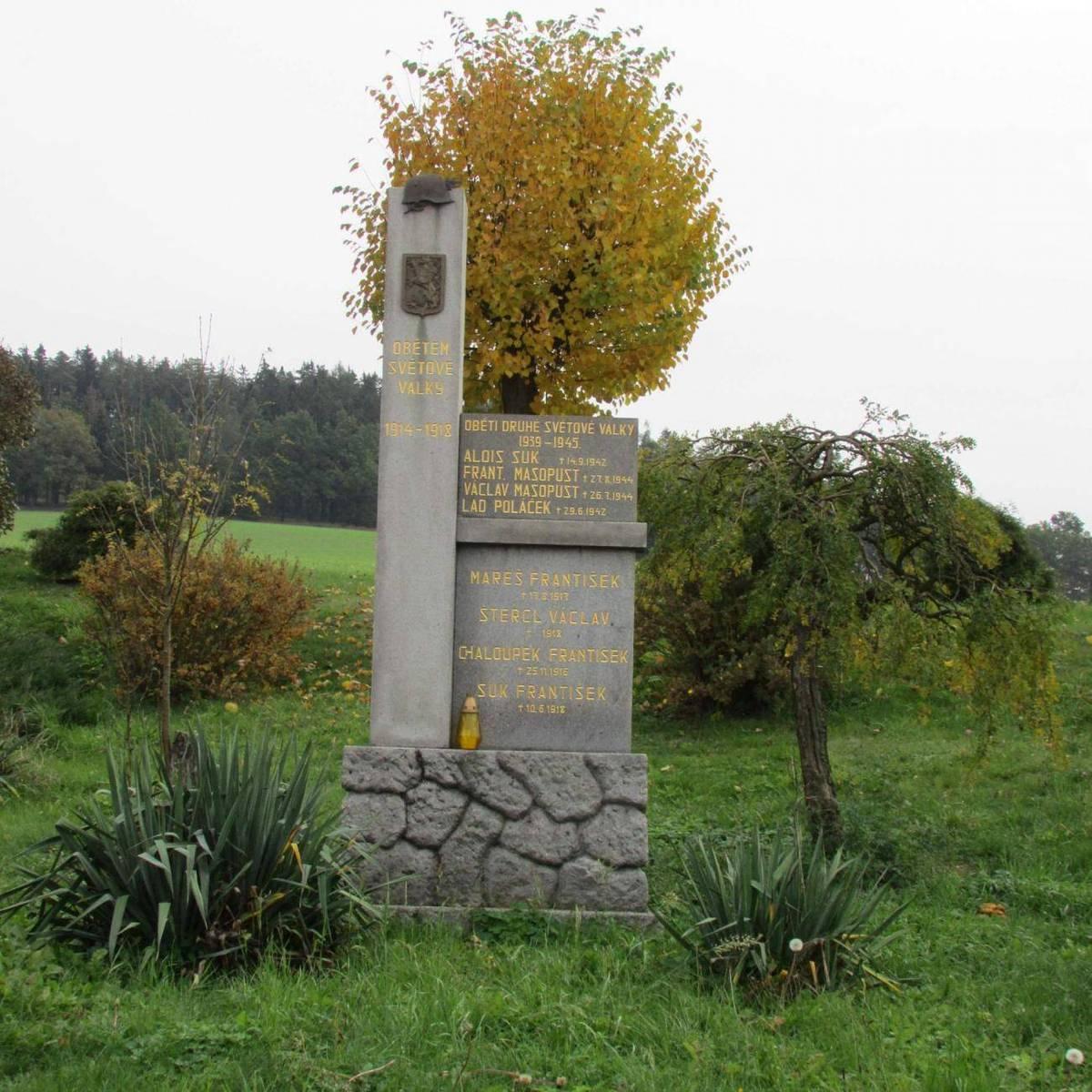 Památníky padlým Pavlov