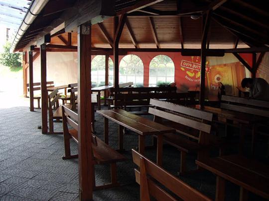 Restaurace Na Špici - Mohelnice - posezení