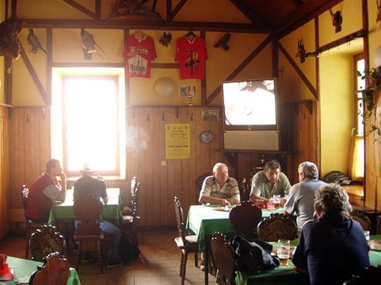 Restaurace Na Špici - Mohelnice - interiér