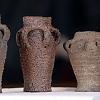 Loštické poháry - z expozice muzea v Mohelnici