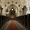 Interiér kostela sv. Jiří