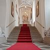 Arcibiskupský palác Olomouc - vstupní schodiště (foto Filip Macháček)